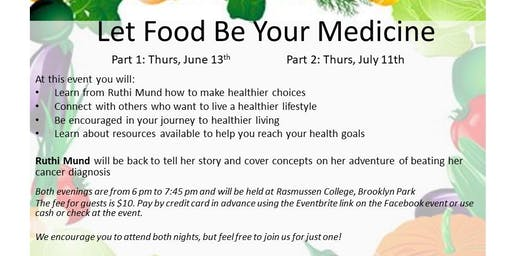 7-11-19 Let Food Be Your Medicine Follow Up Group