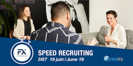Speed recruiting / Recrutement accéléré - GestionPCO tickets
