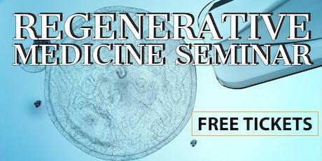 FREE Regenerative Medicine & Stem Cell For Pain Dinner Seminar - Leesburg, VA tickets