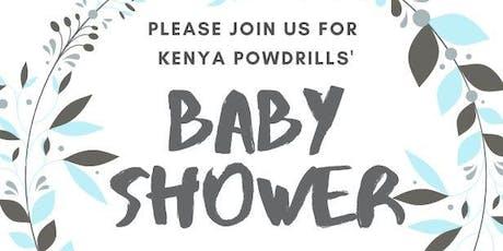 Kenyas Baby Shower tickets