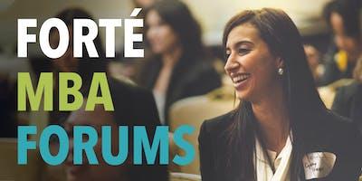 2019 Toronto Forté MBA Forum for Women