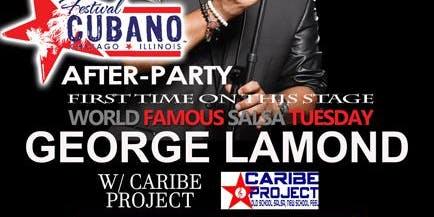 LIVE SALSA Tuesday ft. George LaMond  & Caribe Project