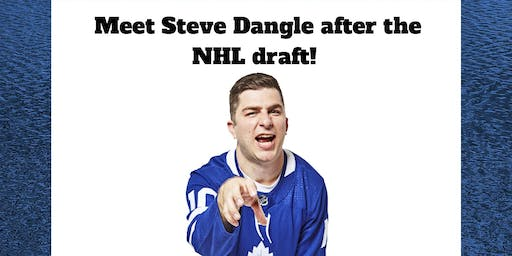 Steve Dangle book signing at the Regal Beagle