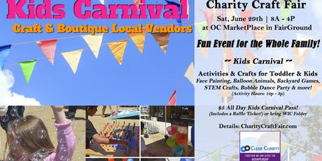 Volunteers Needed: Kids Carnival & Charity Craft Fair  tickets