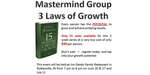 Mastermind Group - 3 Laws of Growth