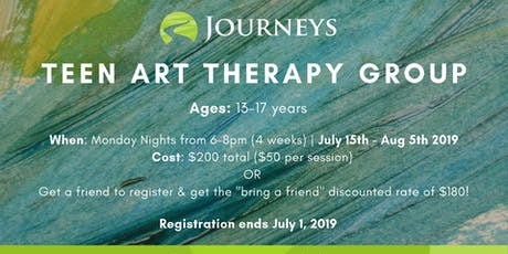 Teen Art Therapy Group tickets