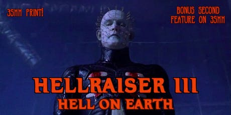 35mm Double Feature: THE BLAIR WITCH PROJECT (1999) & HELLRAISER III (1992) tickets
