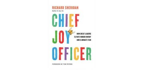 Webinar with Richard Sheridan author of Chief Joy Officer tickets