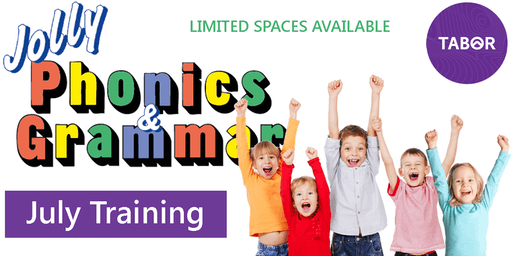 Jolly Phonics & Jolly Grammar Training July 18-19 2019