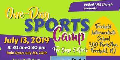 2019 Annual One Day Sports Camp