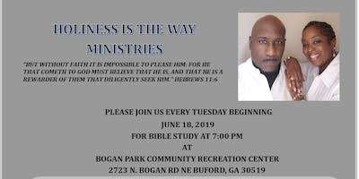 HOLINESS IS THE WAY MINISTRIES-BIBLE STUDY