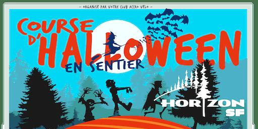 Course d'Halloween en sentier Horizon SF 2019
