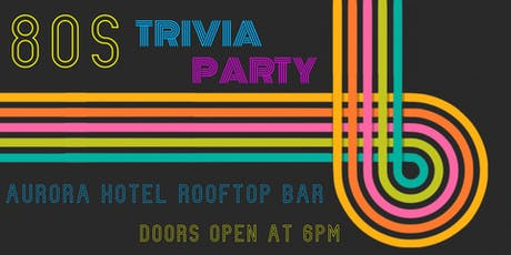 80s Trivia Party tickets