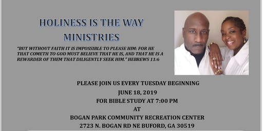 HOLINESS IS THE WAY-BIBLE STUDY