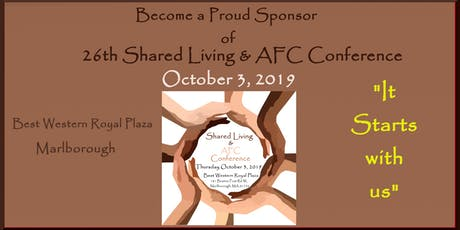 Shared Living  & AFC Conference 2019 Sponsorship Opportunities tickets