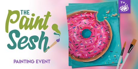 """All Ages Painting Event in Downtown Riverside, CA - """"Sprinkles"""" tickets"""