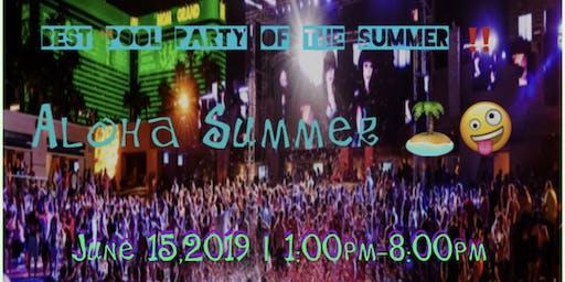 Aloha Summer party‼️