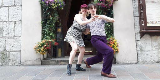 HSDS Lindy hop with Grace Durant and Tomasz Przytycki