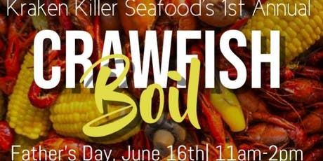 First Annual Father's Day Crawfish Boil tickets