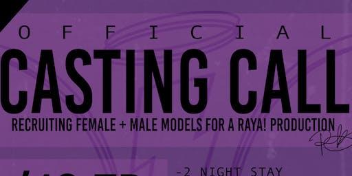 RAYA! Presents: AAE AUDITIONS