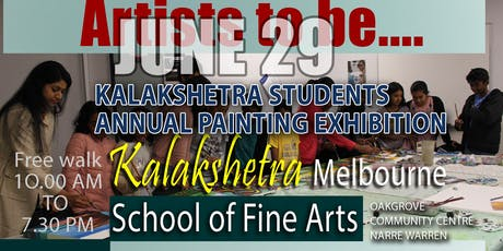 Kalakshetra Art & Music School Students Painting Exhibition 2019 tickets