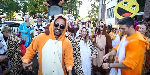 Perth's Winter Onesie Street Parade