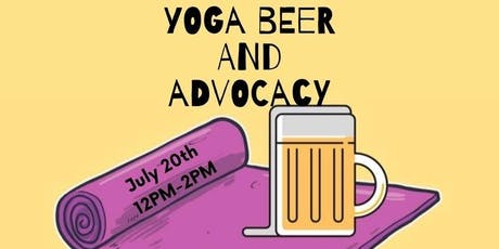 Yoga, Beer and Advocacy tickets