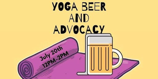 Yoga, Beer and Advocacy