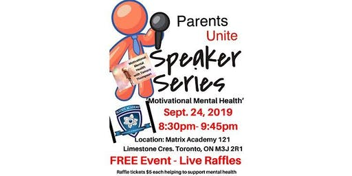 September Speaker Series- Motivational Mental Health
