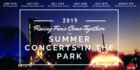 Team RemoTheRealtor Summer Concerts in the Park - Week 1 tickets