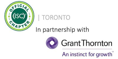 (ISC)2 Toronto Chapter June Meeting: From Cyber Risk to Certifications