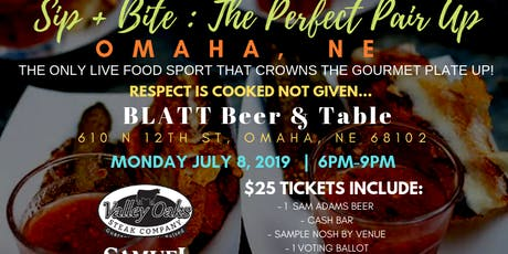 Culinary Fight Club - OMAHA:  Sip+Bite - The Perfect Pair Up tickets