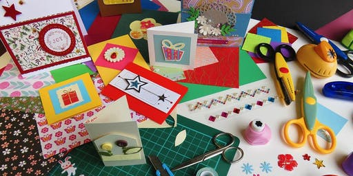 Become a Crafty Card Maker - Youth Holiday Activity