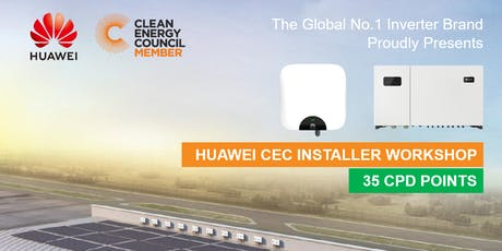 Huawei Smart PV Installer Workshop - Melbourne tickets
