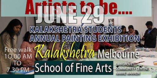 Kalakshetra Art & Music School Students Painting Exhibition 2019