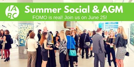Summer Social & AGM tickets