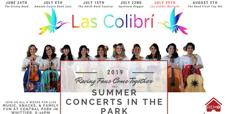 Team RemoTheRealtor Summer Concerts in the Park - Week 5 tickets