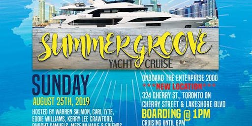 .:::Summer Groove Yacht Cruise 2019:::.