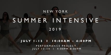 VALLETO NYC summer intensive + performance project tickets