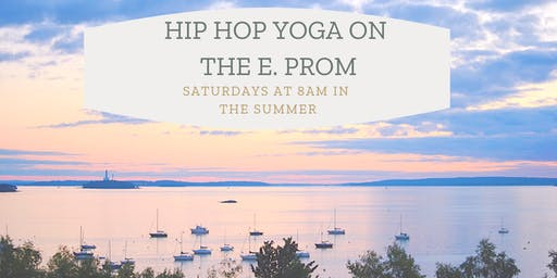 Hip Hop Yoga on the Eastern Prom