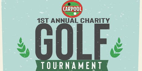 Carpool Charity Golf Tournament Benefiting K9 Caring Angels tickets