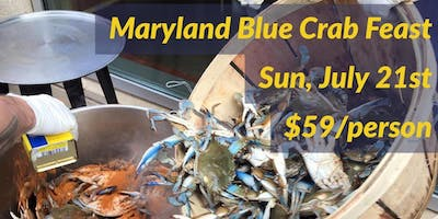 Maryland Blue Crab Feast at Mad Fox Brewing Company