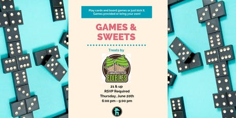 Games and Sweets Night tickets