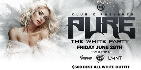 Pure: The White Party (Ages 18+ | Full Bar for 21+) tickets