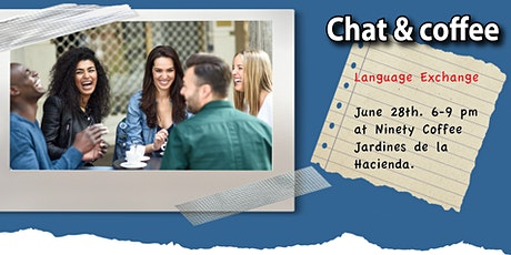 Chat & Coffee: Language Exchange tickets