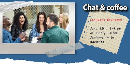Chat & Coffee: Language Exchange