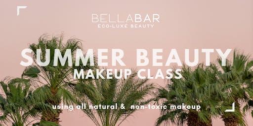 SUMMER BEAUTY Non-toxic Makeup Class
