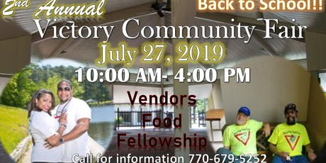2nd Annual Victory Community Fair tickets