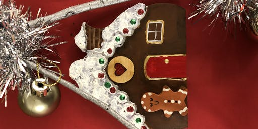 Gingerbread House craft activity