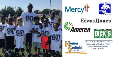 Isaac Bruce Foundation Free Football Clinics tickets
